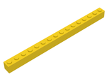 LEGO-Yellow-Brick-1-x-16-2465-246524