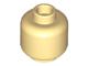 LEGO-Tan-Minifigure-Head-(Plain)-Hollow-Stud-3626c-4569547