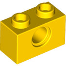 LEGO-Yellow-Technic-Brick-1-x-2-with-Hole-3700-370024
