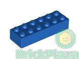 LEGO-Steen-2x6-blauw-44237-4181139-2456