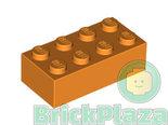 LEGO-Steen-2x4-oranje-3001-4153827