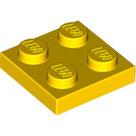 LEGO-Yellow-Plate-2-x-2-3022-302224