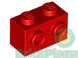 LEGO-Steen-Aangepast-1x2-met-2-Noppen-rood-11211-6019155