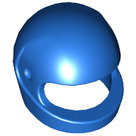 LEGO-Blue-Minifigure-Headgear-Helmet-Motorcycle-(Standard)-2446-4298618