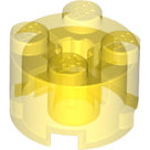 LEGO-Trans-Yellow-Brick-Round-2-x-2-with-Axle-Hole-3941-611644