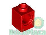 LEGO-Technic-Steen-1x1-met-1-Gat-rood-6541-654121