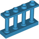 LEGO-Dark-Azure-Fence-1-x-4-x-2-Spindled-with-4-Studs-15332-6211359