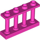 LEGO-Dark-Pink-Fence-1-x-4-x-2-Spindled-with-4-Studs-15332-6223619