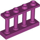 LEGO-Magenta-Fence-1-x-4-x-2-Spindled-with-4-Studs-15332-6277611