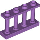 LEGO-Medium-Lavender-Fence-1-x-4-x-2-Spindled-with-4-Studs-15332-6093465