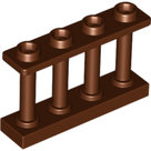 LEGO-Reddish-Brown-Fence-1-x-4-x-2-Spindled-with-4-Studs-15332-6066114