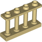 LEGO-Tan-Fence-1-x-4-x-2-Spindled-with-4-Studs-15332-6066118