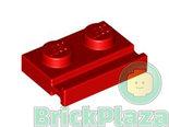 LEGO-Plaat-Aangepast-1x2-met-Deurrail-rood-32028-4612575