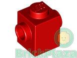 LEGO-Steen-Aangepast-1x1-met-2-Noppen-rood-47905-6030266-4550236