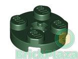 LEGO-Plaat-Rond-2x2-aarde-groen-4032-6035029