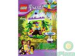 LEGO-Bouwbeschrijving-Friends-De-Fontein-van-Papegaai-41044