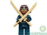 LEGO-Minifiguur-Serie-15-Kendo-Fighter-nr.-12-71011
