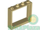 LEGO-Frame-1x4x3-beige-60594-4578109