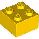 LEGO-Steen-2x2-geel-3003-300324