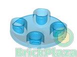LEGO-Plaat-rond-2x2-met-ronde-onderkant-transparant-blauw-54196-4623595