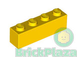 LEGO-Steen-1x4-geel-3010-301024
