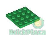 LEGO-Plaat-4x4-groen-3031-4243821
