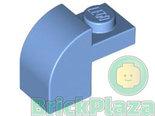 LEGO-Steen-Afgerond-2x1-medium-blauw-6091-4617019