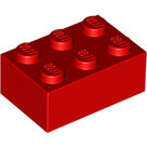 LEGO-Red-Brick-2-x-3-3002-300221