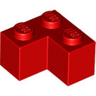 LEGO-Red-Brick-2-x-2-Corner-2357-235721