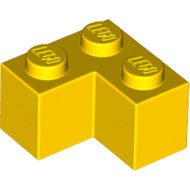 LEGO Yellow Brick 2 x 2 Corner 2357 - 235724