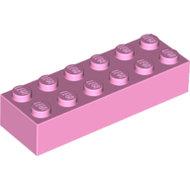 LEGO Bright Pink Brick 2 x 6 2456 - 6228963