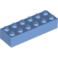 LEGO Medium Blue Brick 2 x 6 2456 - 6162897