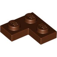 LEGO Reddish Brown Plate 2 x 2 Corner 2420 - 4211257