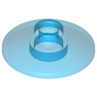 LEGO Trans-Dark Blue Dish 2 x 2 Inverted (Radar) 4740 - 3006343