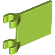 LEGO Lime Flag 2 x 2 Square 2335 - 6186020