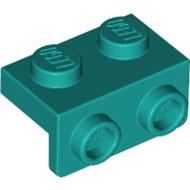 LEGO Dark Turquoise Bracket 1 x 2 - 1 x 2 99781 - 6249418