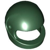 LEGO Dark Green Minifigure, Headgear Helmet Motorcycle (Standard) 2446 - 4298613
