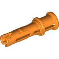 LEGO Orange Technic, Pin 3L with Friction Ridges Lengthwise and Stop Bush 32054 - 6143033