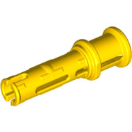 LEGO Yellow Technic, Pin 3L with Friction Ridges Lengthwise and Stop Bush 32054 - 4140805