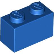 LEGO Blue Brick 1 x 2 3004 - 300423