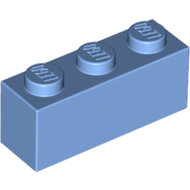 LEGO Medium Blue Brick 1 x 3 3622 - 6000881