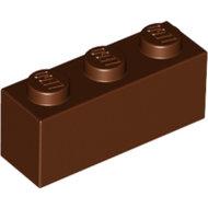 LEGO Reddish Brown Brick 1 x 3 3622 - 4211220