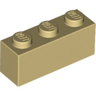 LEGO Tan Brick 1 x 3 3622 - 4162465