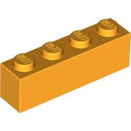 LEGO Bright Light Orange Brick 1 x 4 3010 - 6003004