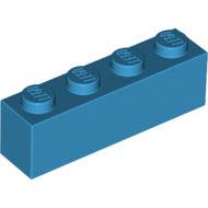 LEGO Dark Azure Brick 1 x 4 3010 - 6213272