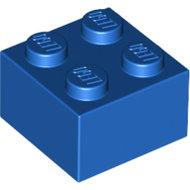 LEGO Blue Brick 2 x 2 3003 - 300323