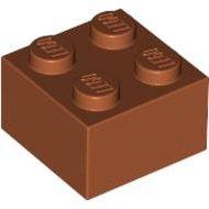 LEGO Dark Orange Brick 2 x 2 3003 - 4164440