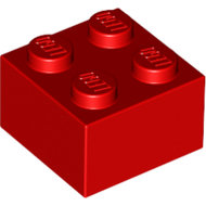 LEGO Red Brick 2 x 2 3003 - 300321