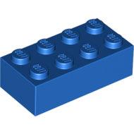 LEGO Blue Brick 2 x 4 3001 - 300123