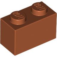 LEGO Dark Orange Brick 1 x 2 3004 - 4579659